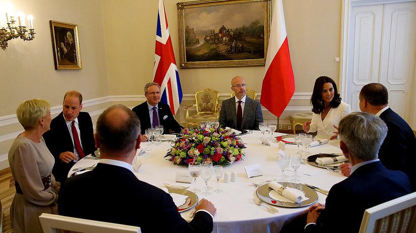 książę William i księżna Kate w Polsce, ciekawostki z wizyty, main topic