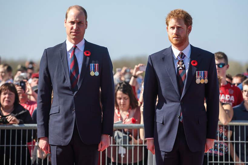 Książę William, książę Harry, 09.04.2017 rok