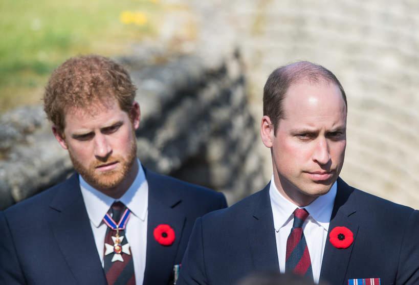 Książę William, książę Harry, 09.04.2017 rok, Francja