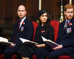 Książę William obraża księżną Meghan przez spór z księciem Harrym