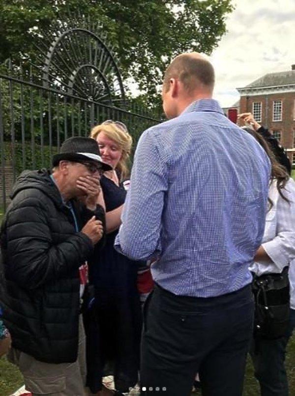 Książę William spotkałsię z fanami Diany w 58. rocznicę jej urodzin