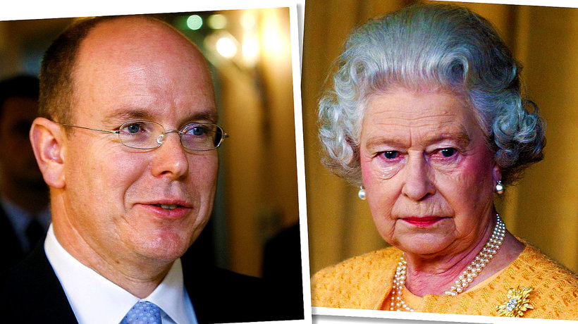 KsiążęAlbert, królowa Elżbieta II
