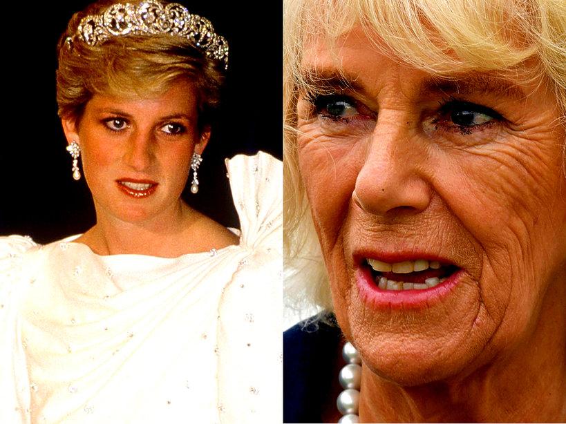 Księżna Camilla kopiuje księżną Dianę i chce objąć tron brytyjski