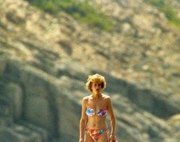 Księżna Diana w bikini, sylwetka Diany