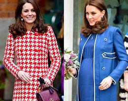 Podziwiamy najlepsze ciążowe stylizacje księżnej Kate Middleton!