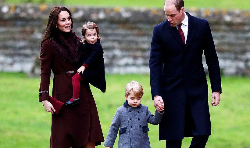 Księżna Kate, dzieci brytyjskiej rodziny królewskiej, Brytyjska rodzina królewska