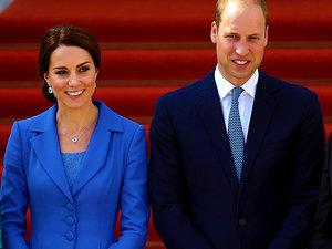 Księżna Kate i książę William w Berlinie