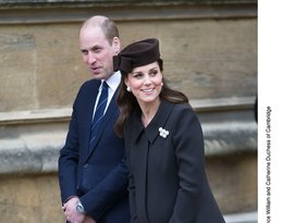 Księżna Kate, Książę William i królowa Elżbieta II na wielkanocnej mszy świątecznej