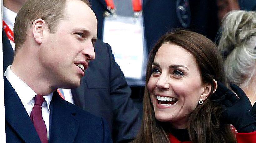Księżna Kate, Ksiażę William w Paryżu