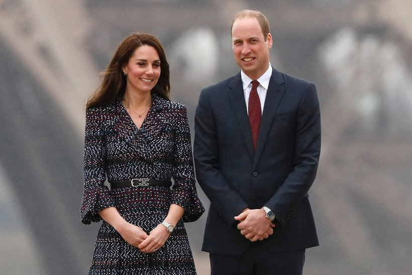 Księżna Kate, Książę William w Paryżu