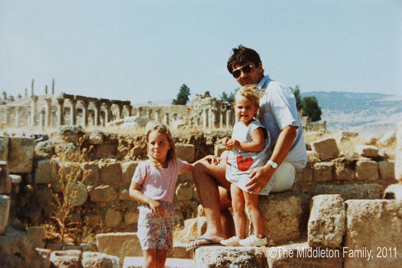 Księżna Kate w dzieciństwie, Kate Middleton jako dziecko
