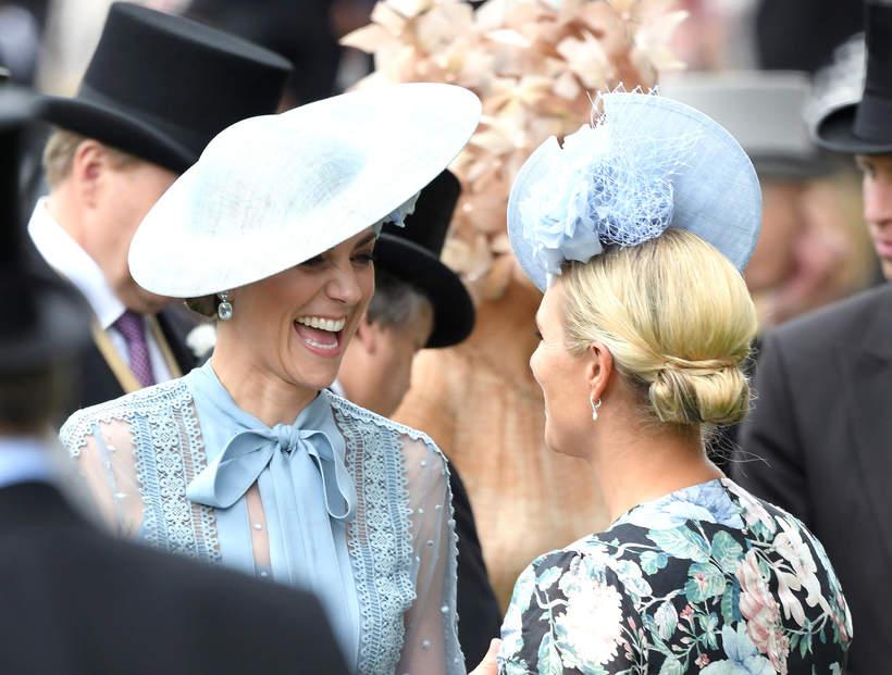 Księżna Kate, Zara Phillips, Zara Tindall, 18.06.2019