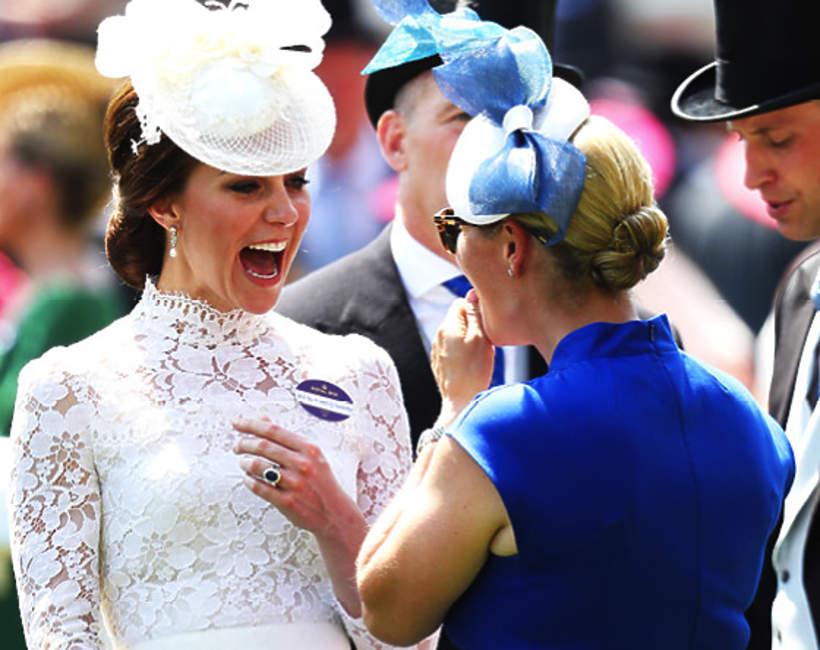 Księżna Kate, Zara Phillips, Zara Tindall, 20.06.2017