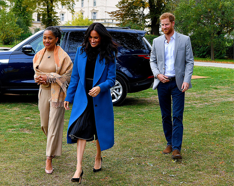Księżna Meghan, Doria Ragland, mama księżnej Meghan, mama Meghan Markle