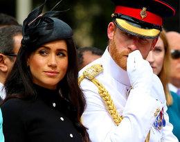 Samolot księcia Harry'ego i księżnej Meghan o krok od katastrofy!