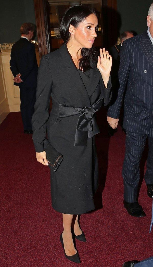 Księżna Meghan na Royal British Legion Festival of Remembrance w Royal Albert Hall w Londynie