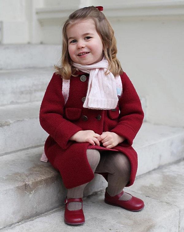 Księżniczka Charlotte chodzi do przedszkola