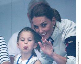 Księżniczka Charlotte, księżna Kate, regaty