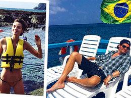 Kuba Wojewódzki, Renata Kaczoruk, Wojewódzki i Kaczoruk na wakacjach