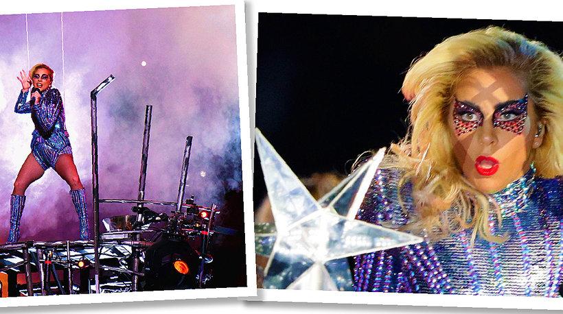 Lady GaGa, Super Bowl, Lady GaGa na finale Super Bowl