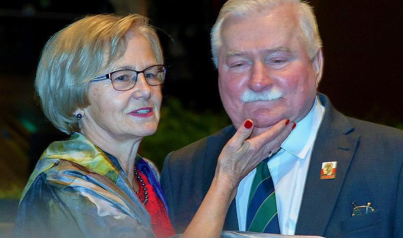 Lech Wałęsa o seksie z Danutą Wałęsą