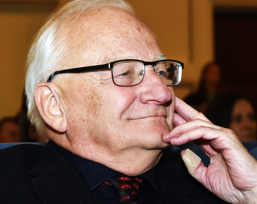 Legendarny prezenter TVP Stanisław Janicki wziął ślub z o 24 lata młodszą Elżbietą