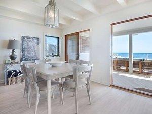 Leonardo DiCaprio, jadalnia, dom w Malibu
