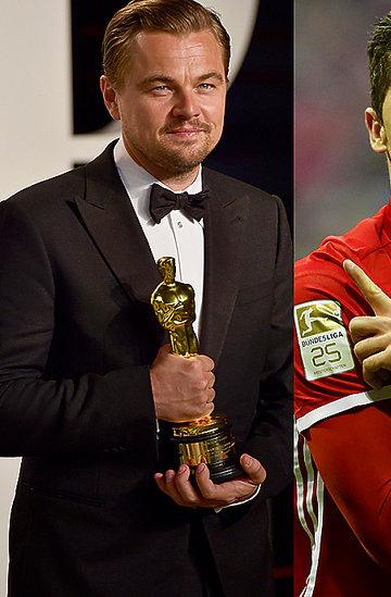 Leonardo DiCaprio, Robert Lewandowski, Hubert Urbański, Piotr Stramowski, Michał Szpak, faceci roku 2016