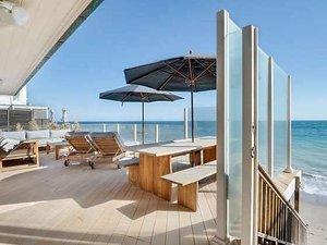 Leonardo DiCaprio, taras i plaża, dom w Malibu