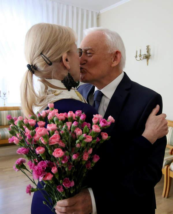 Leszek Miller, Aleksandra Miller, Żyrardów, 50. rocznica ślubu, 19.04.2019 rok