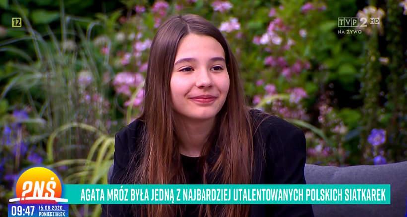 Liliana Olszewska, Liliana Mróz-Olszewska, córka Agaty Mróz