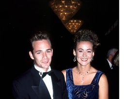 Luke Perry z byłą żoną, Rachel Sharp