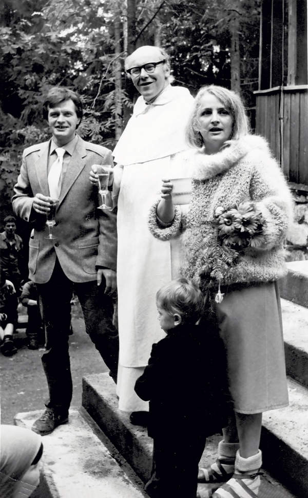 Maciej Berbeka, Ewa Dyakowska-Berbeka, ślub, 6. października 1984 roku
