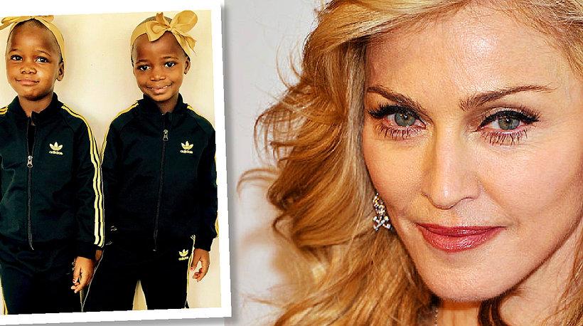 Madonna, adoptowane dzieci Madonny, bliźniaczki Madonna