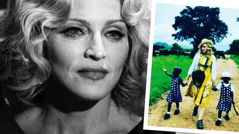 Madonna, bliźniaczki, Madonna adopcja