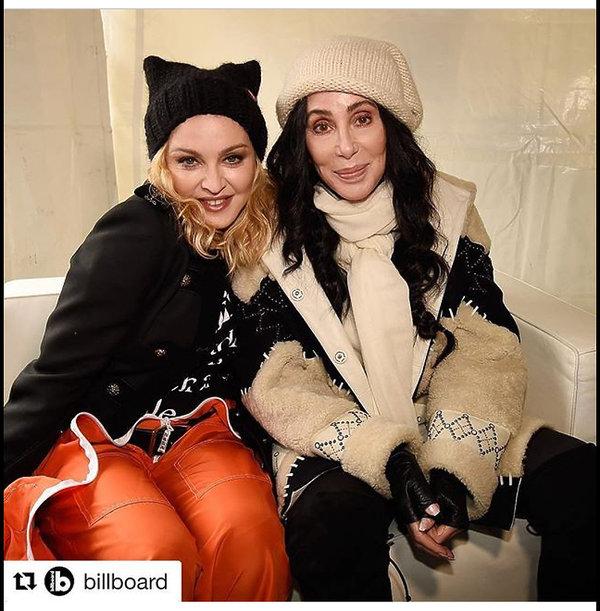 Madonna i Cher