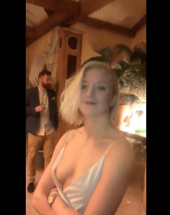 Magda Gessler i jej wigilijny filmik wywołały kontrowersje. Sutek Lary Gessler na wierzchu