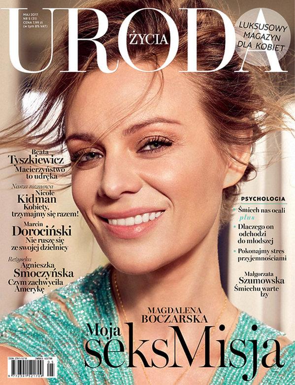 Magdalena Boczarska, URODA ŻYCIA maj, 2017
