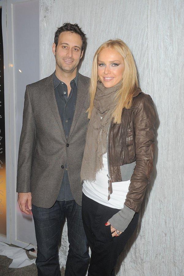 Magdalena Mielcarz i AdrianAshkenazy na pokazie Roberta Kupisza