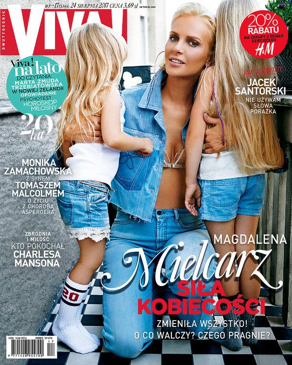 Magdalena Mielcarz, Viva! sierpień 2017