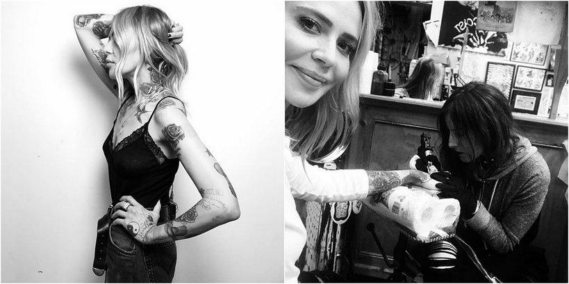 Wszystkie Tatuaże Mai Sablewskiej Znaczenie Tatuaży Vivapl