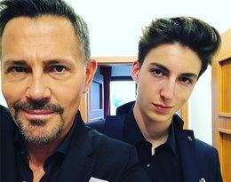 Maksymilian Ibisz, 19-letni syn Krzysztofa Ibisza i Anny Zejdler-Ibisz