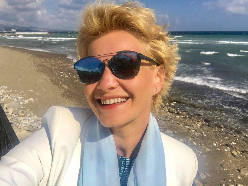 Małgorzata Kożuchowska, wakacje Małgorzaty Kożuchowskiej, Małgorzata Kożuchowska bez makijażu