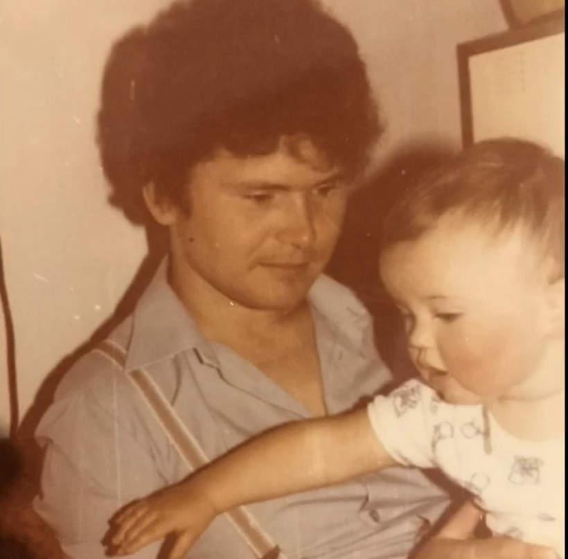 Małgorzata Leitner z tatą