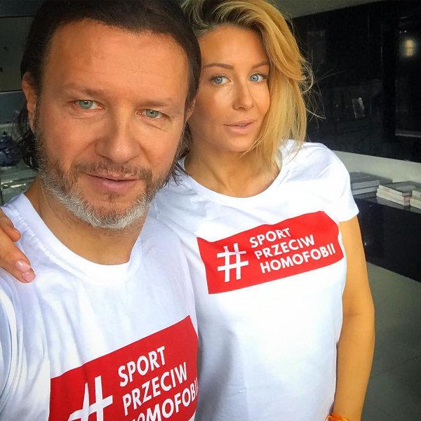 Małgorzata Rozenek-Majdan i Radosław Majdan przeciw homofobii