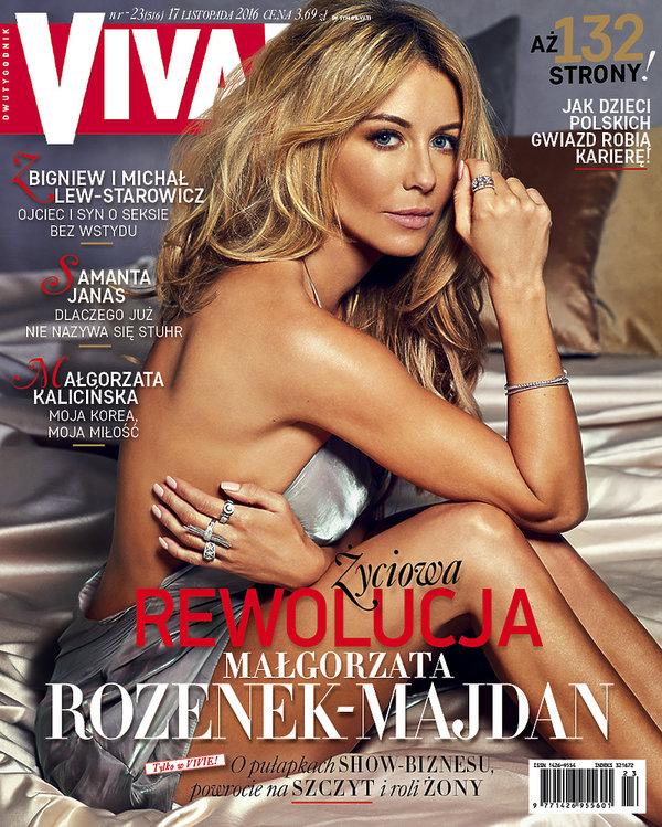 Małgorzata Rozenek-Majdan, Viva! listopad 2016