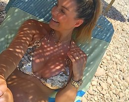 Małgorzata Rozenek-Majdan w bikini