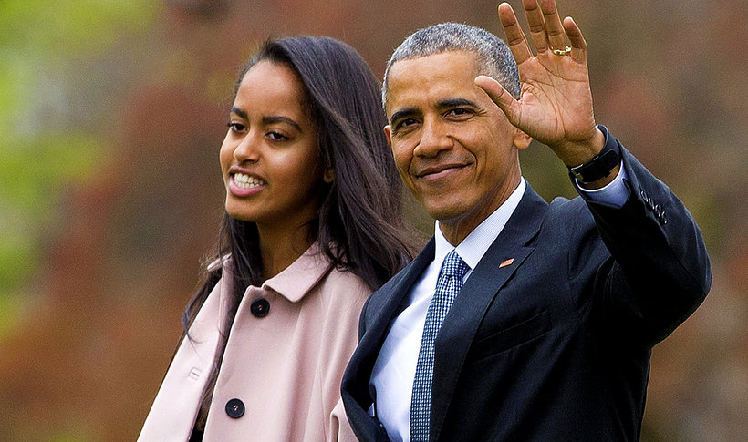 Malia Obama asystentką, córka Baracka Obamy