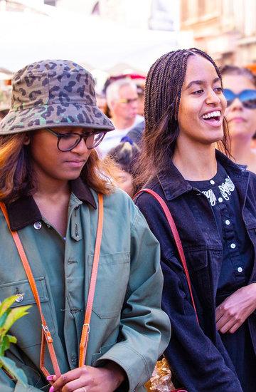 Malia Obama, Natasha Sasha Obama, jak wyglądają córki Obamów