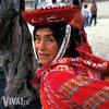 Mama i dziecko z peruwiańskiego plemienia Quechua